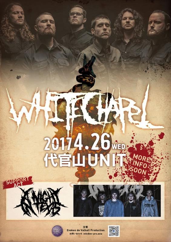 WHITECHAPEL JAPAN TOUR /