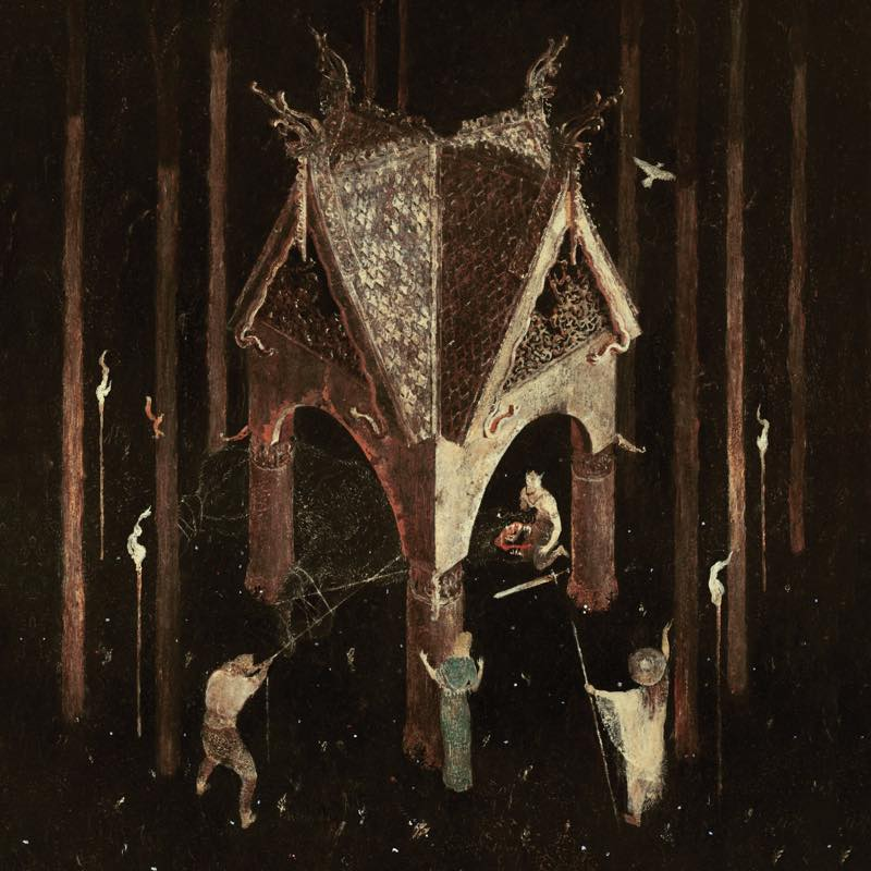Thrice Woven / WOLVES IN THE THRONE ROOM