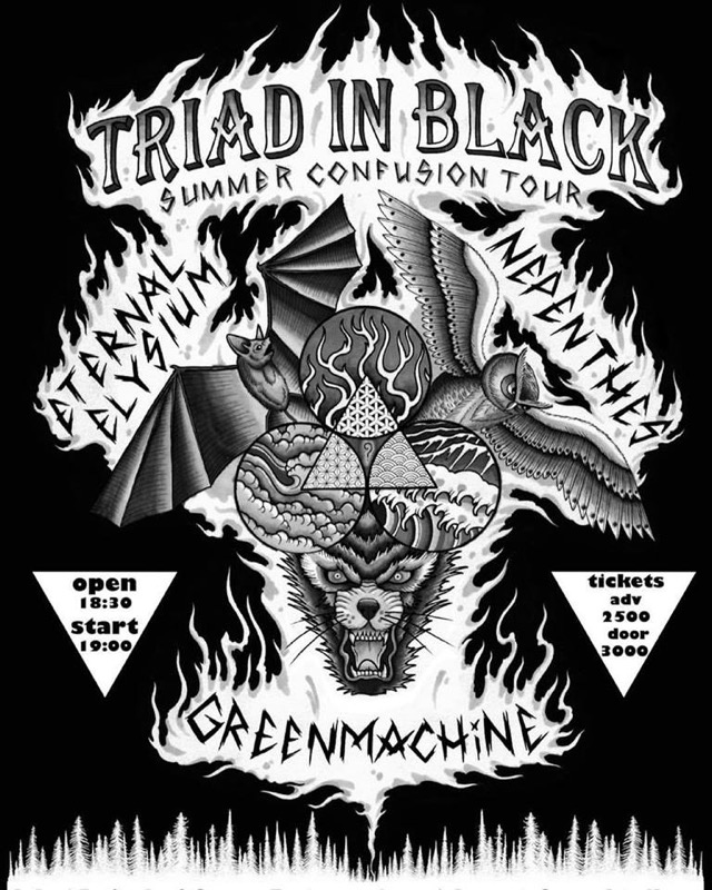 TRIAD in BLACK SUMMER CONFUSION今週末開催
