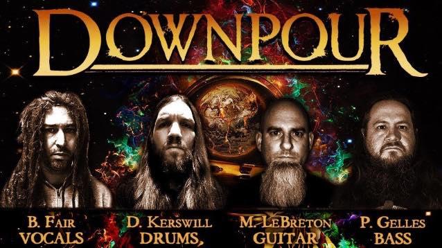 DOWNPOUR、1stアルバム