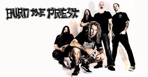 BURN THE PRIESTカヴァーアルバム