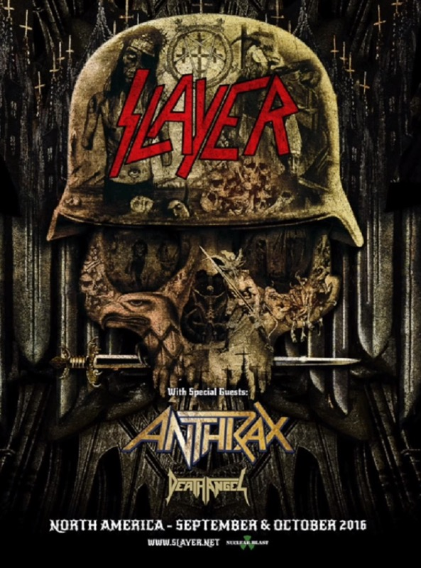 SLAYER - Repentless North American Tour