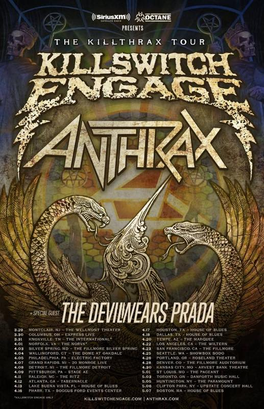 THE KILLTHRAX TOUR