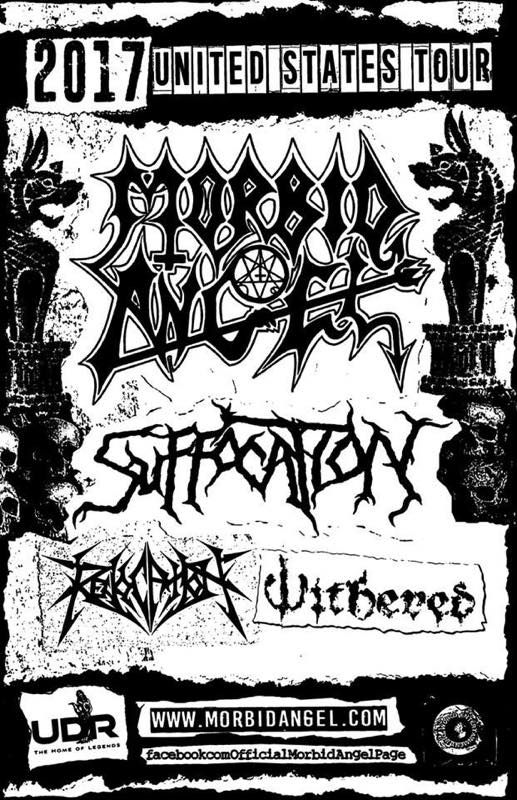 MORBID ANGEL US TOUR with SUFFOCATION