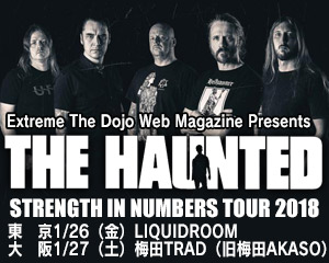 THE HAUNTED STRENGTH IN NUMBERS TOUR 2018