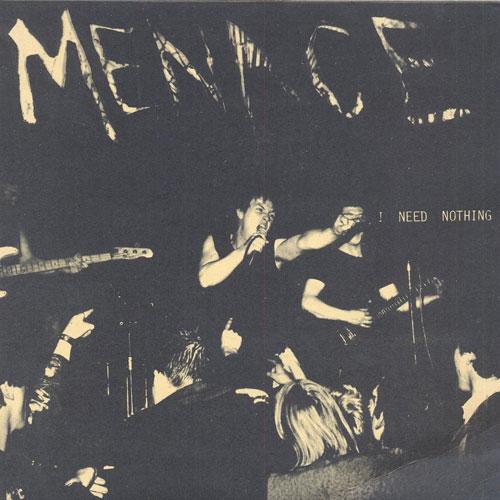 Menace 2ndシングル