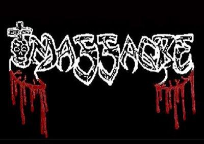 KAM LEE制作のMASSACREのロゴ<