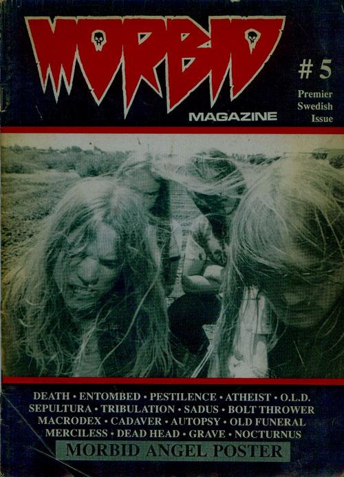 MORBID Magazine1989年発行の5号