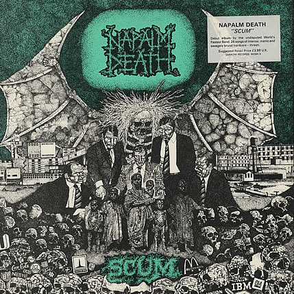 SCUM / NAPALM DEATH